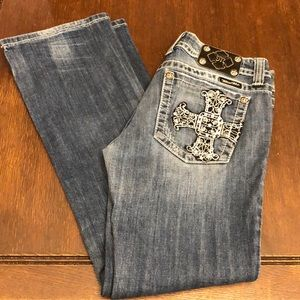 MISS ME JEANS BOOT CUT SIZE 30